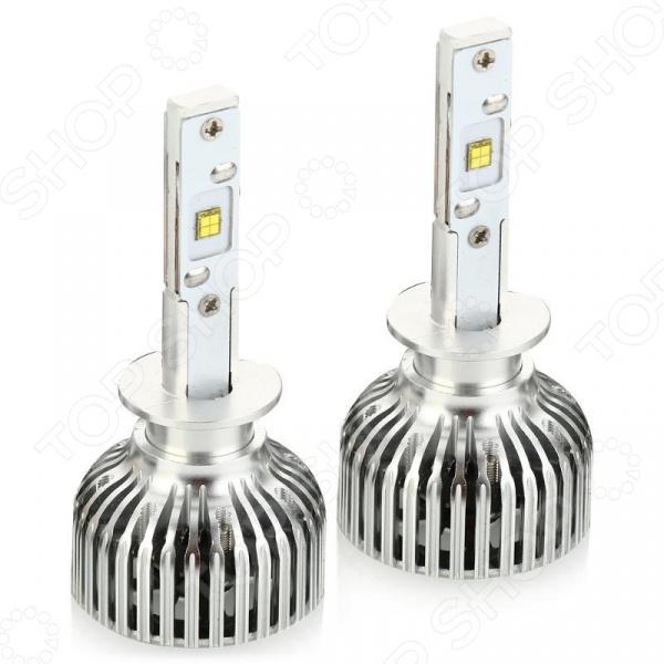 Комплект автоламп светодиодных ClearLight Led Standart H1 будет отличным дополнением к набору аксессуаров и комплектующих для вашего авто. Лампы светодиодные, имеют увеличенный световой поток и используются для установки в фары ближнего, дальнего и противотуманного света. Они, в отличии от ламп накаливания, не имеют стеклянной колбы и нити накаливания, благодаря чему более устойчивы к ударам и вибрации. Энергопотребление у ламп достаточно низкое, что значительно уменьшает нагрузку на генератор и аккумулятор автомобиля.  Особенности и преимущества  Простота установки.  Длительный срок службы лампы выдерживают до 30 тысяч часов работы.  Яркость ксенона лампы очень яркие, имеют большую величину светового потока.
