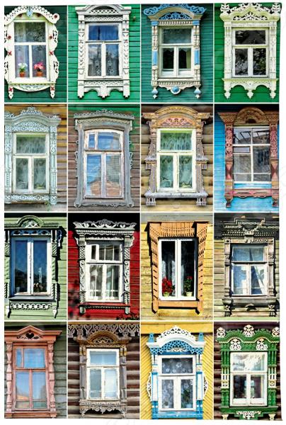 Визитница Mitya Veselkov «Большие окна» визитницы mitya veselkov визитница олени на черном