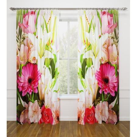 Купить Фотошторы Стильный дом «Летние цветы»