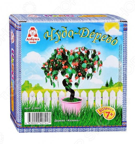 Набор для детского творчества Азбука тойс «Чудо-дерево: Калина»