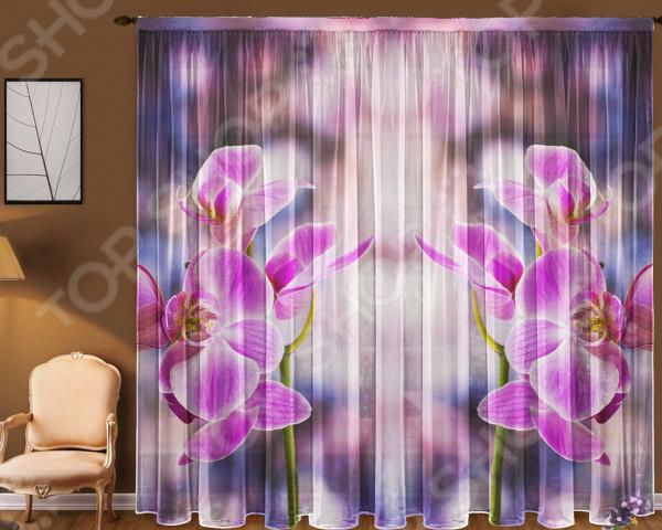 Комплект тюля ТамиТекс «Орхидея»