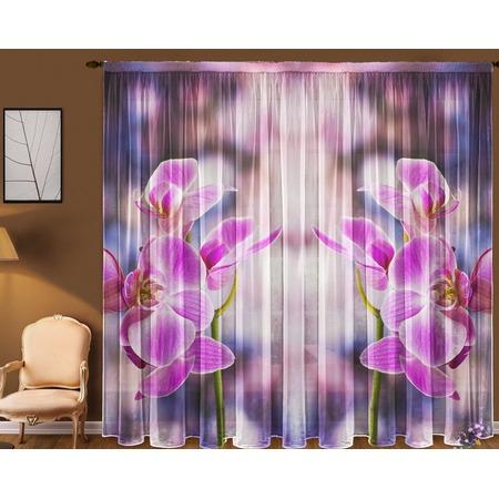 Купить Комплект тюля ТамиТекс «Орхидея»