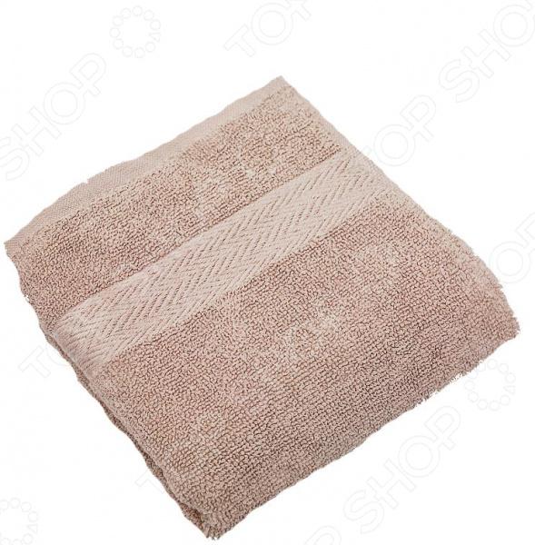 Полотенце махровое Василиса «Конфетти». Цвет: бежевый