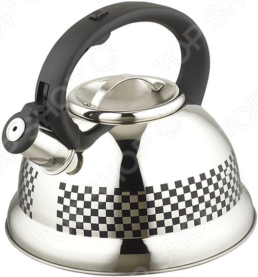 Чайник со свистком Agness 907-001 сумка picard 4260 907 001 schwarz