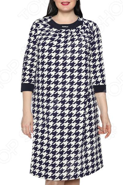 Платье Лауме-Лайн «Дама сердца» Цвет: белый туника лауме лайн эстетика цвет васильковый