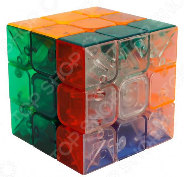 Головоломка 1 Toy «Куб 3х3 с прозрачными гранями». В ассортименте