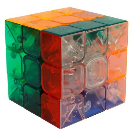 Купить Головоломка 1 Toy «Куб 3х3 с прозрачными гранями»