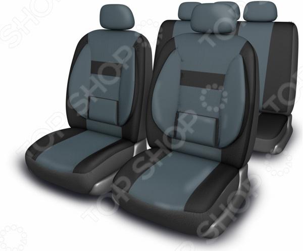 Комплект чехлов на сиденья автомобиля SKYWAY Protect Plus-1