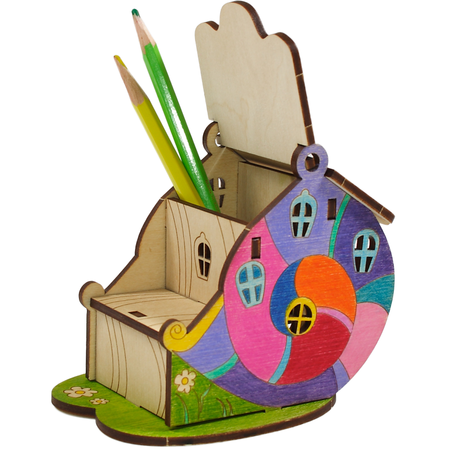 Купить Конструктор деревянный WOODY «Жемчужный домик»