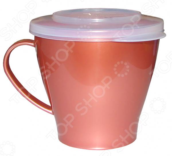 Чашка с герметичной крышкой Пчелка П-4-3-3ТХ. В ассортименте