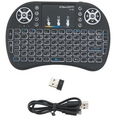 Купить Мини-клавиатура с тачпадом беспроводная СИГНАЛ АТ 103