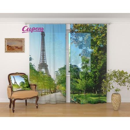 Купить Фототюль Сирень «Весеннее утро в Париже»