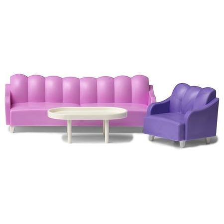 Купить Мебель для куклы Lundby «Базовый набор для гостиной»