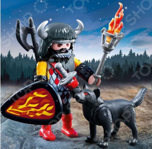 Конструктор игровой Playmobil «Экстра-набор: Воин Волка»