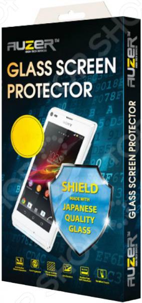 Стекло защитное Auzer AG-SSXZ 3 M для Sony Xperia Z Mini аксессуар защитное стекло sony xperia m4 aqua solomon