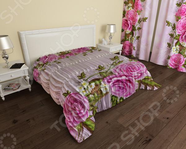 Покрывало ТамиТекс «Китайские розы»