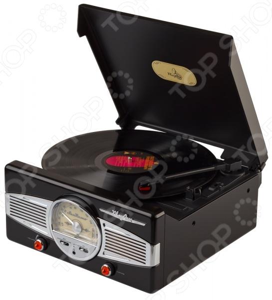Ретро-проигрыватель виниловых пластинок Playbox PB-101