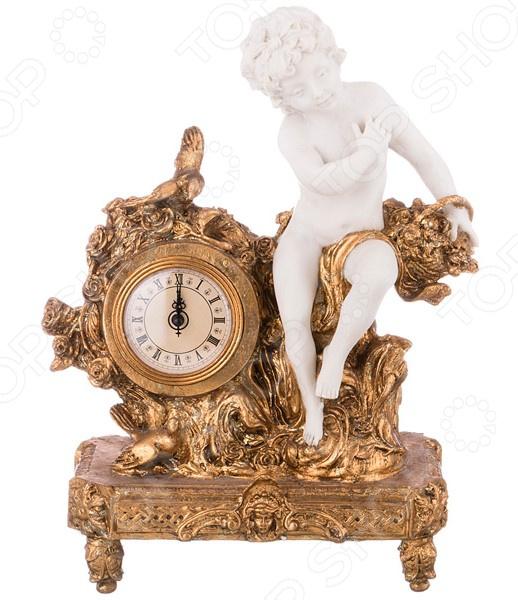 Часы настольные «Ангелочек» 61-312 купить часы мальчику 7 лет