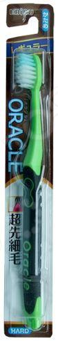 Зубная щетка Ebisu со стандартной чистящей головкой и прорезиненной ручкой