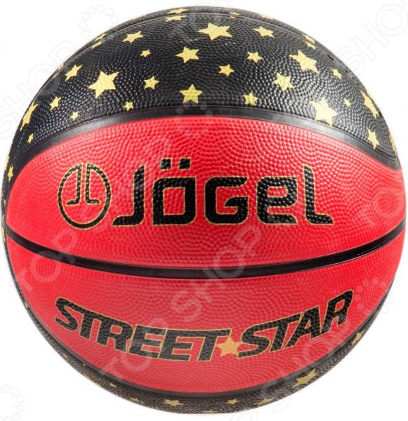 Мяч баскетбольный Jogel Street Star мячи спортивные jogel мяч баскетбольный jogel street star 7