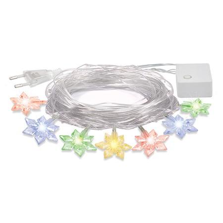 Купить Электрогирлянда VEGAS «Цветочки» 55084