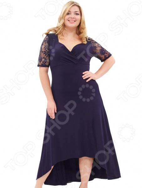 Платье Матекс «Ронда». Цвет: синий платье матекс счастливая женщина цвет синий