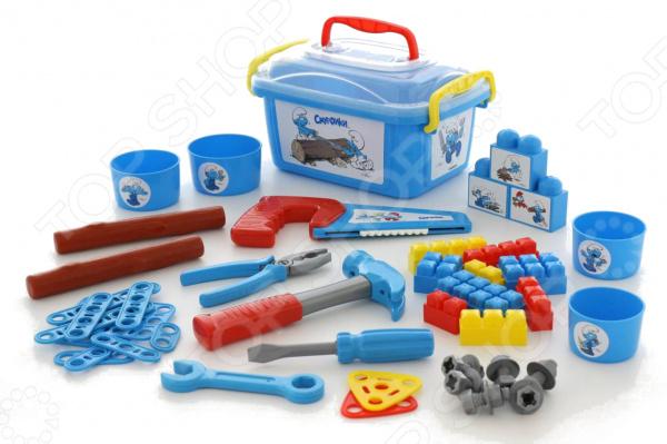 Игровой набор для мальчика POLESIE «Смурфик - мастер»