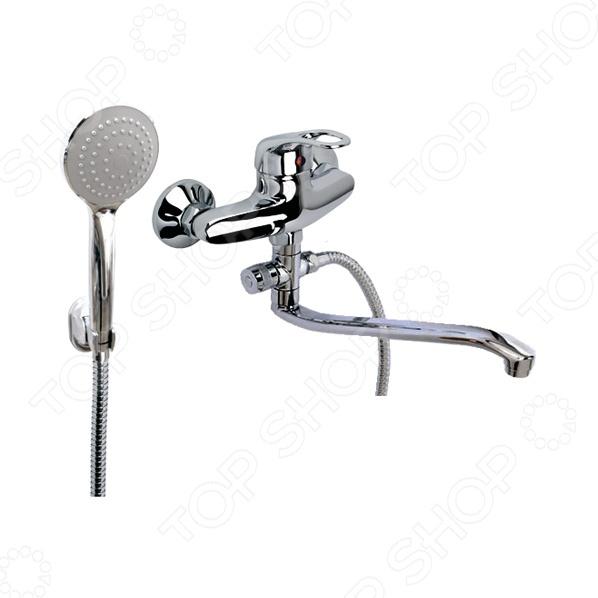Смеситель для ванны и умывальника с массажной лейкой и высоким изливом Argo Jamaica argo смеситель для кухни jamaica d 40