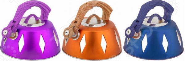 Чайник со свистком Bekker BK-S455. В ассортименте