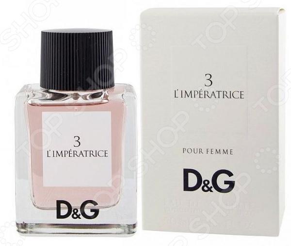 Туалетная вода для женщин Dolce and Gabbana 3 L'imperatrice l imperatrice 3 dolce and gabbana