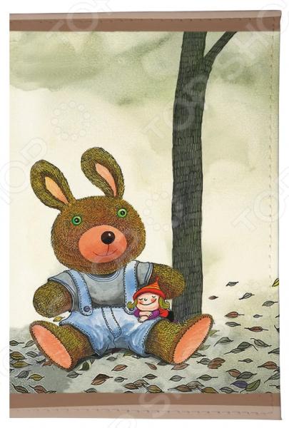 Обложка для автодокументов Mitya Veselkov «Мишка и малышка» мишка тед из фильма третий лишний