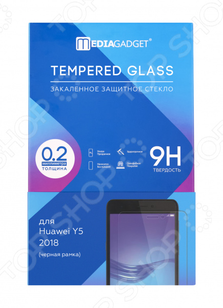 Стекло защитное Media Gadget для Huawei Y5 2018 38cm 58cm led mirror light 12w or 18w waterproof wall lamp fixture ac110v 220v acrylic wall mounted bathroom lighting free ship