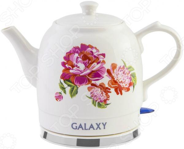 Чайник Galaxy GL 0503 чайник galaxy gl 0503 1400вт 1 4л керамика