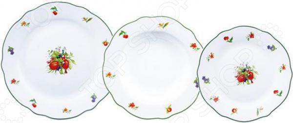 Набор столовой посуды Bergner BF-8042 Lewes Butterfly