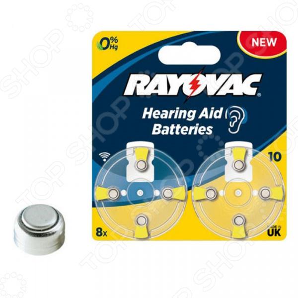 Элемент питания Rayovac AC.TYPE 10 8