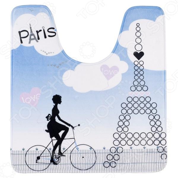 Коврик для туалета Tatkraft Paris Mademoiselle ёршик для туалета tatkraft paris mademoiselle acryl 3d