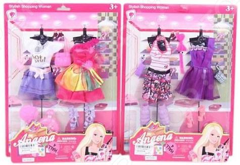 Набор одежды для кукол Наша Игрушка «Наряд Модный». В ассортименте набор одежды для кукол rik