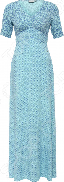 Платье Finn Flare S16-11075. Цвет: светло-бирюзовый