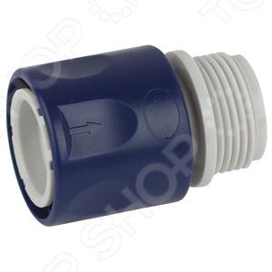 Коннектор для шланга с внешней резьбой Green Apple GAES20-10 коннектор с внешней резьбой archimedes 90916