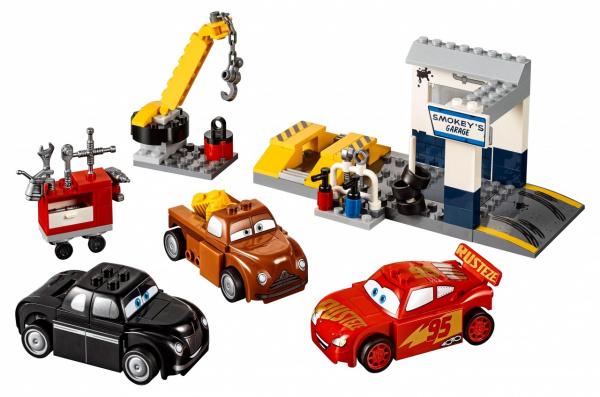 Конструктор игровой LEGO Juniors «Гараж Смоуки»
