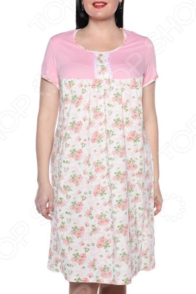 Ночная сорочка El Fa Mei «Девичьи сны». Цвет: розовый el fa mei боди слипы