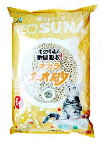 Наполнитель для кошачьего туалета Neo Loo Life от запаха на основе соевых бобов