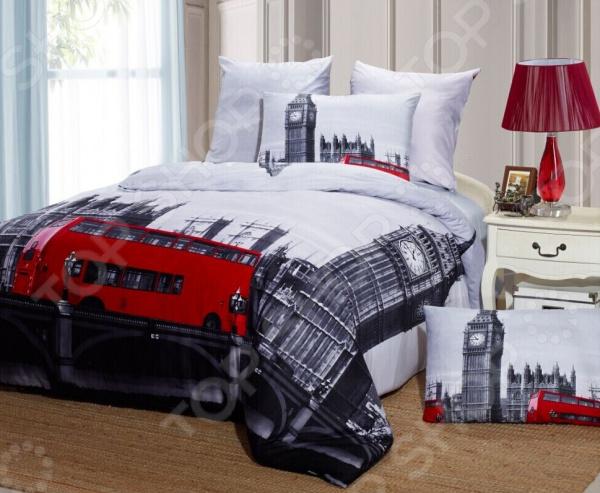 Комплект постельного белья Mango «Лондон». Евро