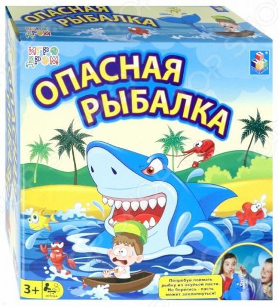 Игра настольная 1 Toy «Опасная рыбалка»