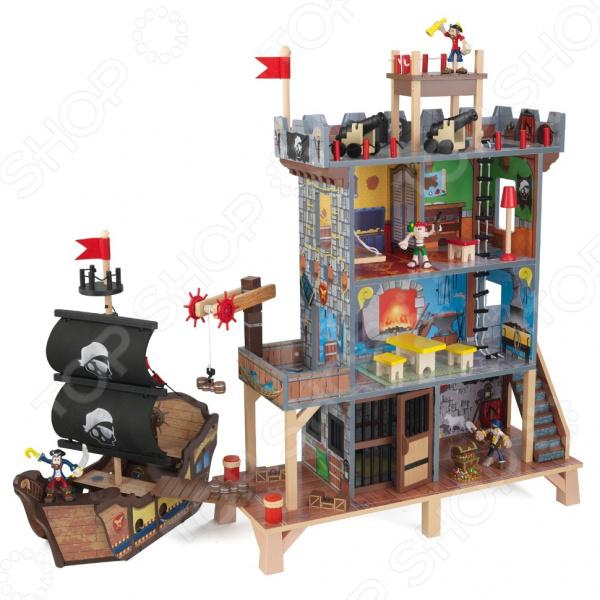 Набор игровой для мальчика KidKraft «Пиратский форт» игровые наборы kidkraft набор пиратский форт