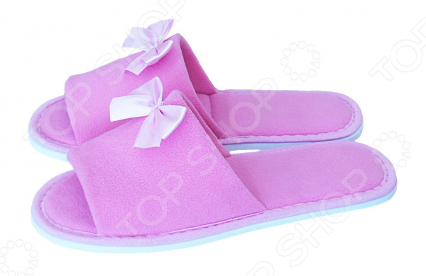Тапочки с открытым носком Dream Time SL-158. Цвет: розовый