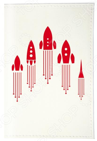 Обложка для паспорта Mitya Veselkov «Ракеты» обложка для паспорта твой стиль цветы 2203 т5