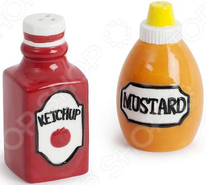 Солонка и перечница Balvi Ketchup&amp Mustard Balvi - артикул: 1031279