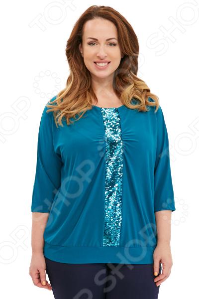 Блуза Blagof «Лунная дорожка». Цвет: бирюзовый платье женское blagof