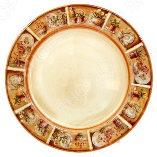 Ни одно традиционное застолье не полноценно без вкусных тортов, ароматной выпечки и пирожных, которые подают в самом конце. Десертные тарелки служат для сервировки десерта. Эта посуда должна быть оригинальной или минимум красивой и изысканной, чтобы впечатлить и удивить своих гостей. Тарелка подчеркнуть поданную сладость и выгодно продемонстрирует ее. Набор тарелок десертных LCS Кантри являются неотъемлемым элементом сервировки праздничного стола. Это качественный и многофункциональный прибор, изготовленный молодой и перспективной итальянской компанией. Главная цель компании создавать посуду и кухонные принадлежности, которые не только практичны в использовании, но также станут достойным украшением стола и кухонного интерьера. Высокий стандарт изделий обеспечивается за счет соединения высоко технологичного производства и использования ручной работы профессиональных дизайнеров и художников, работающих на фабрике.  Преимущества посуды компании LCS:  хорошее соотношение цены и качества;  качественное производство;  ручная работа;  изысканное исполнение.  Тарелки серии Кантри изготовлены из качественной керамики без традиционного цветочного оформления. Изюминка этой линии посуды изображение сцен из жизни итальянской деревни и предметов обихода. Посуда придаст вашей кухне особый колорит, который наполнит помещение теплом и прелестью деревенской жизни. Это изделие станет восхитительным приобретение или подарком хозяйственному человеку. При желании вы можете приобрести всю посуду серии Кантри и создать уникальный и неповторимый сервиз, который будет радовать вас долгие годы.